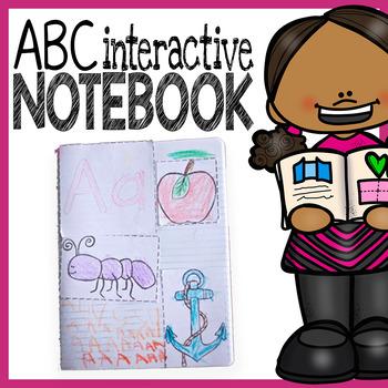 Alphabet Interactive Notebook - A Pre-Kindergarten-Friendl