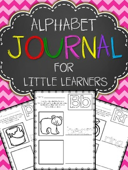 Alphabet Journal For Little Learners