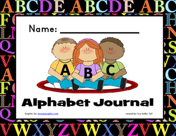 Alphabet Journal Trace and Write