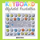 Alphabet Activities, Alphabet Keyboard Practice