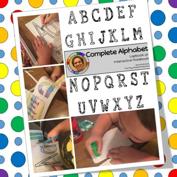 Alphabet Lapbooks and Interactive Notebooks - FREE SAMPLE