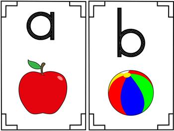 Phonogram Letter Cards