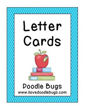 Alphabet Letter Cards  * free download *