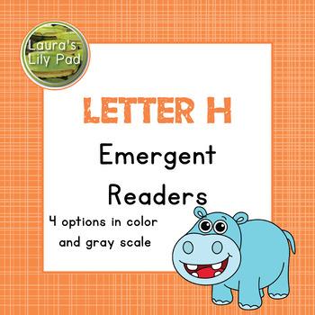 Alphabet Letter H Emergent Readers Set