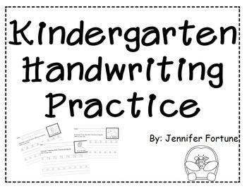 Alphabet Letter Handwriting Practice