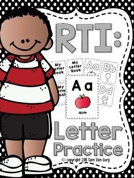 Alphabet Letter Intervention Book