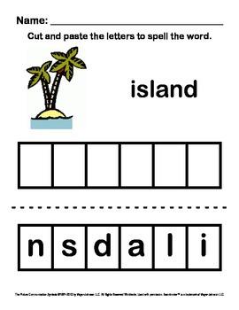 Alphabet Letter Sounds / Phonics Words Package (Spell - Le