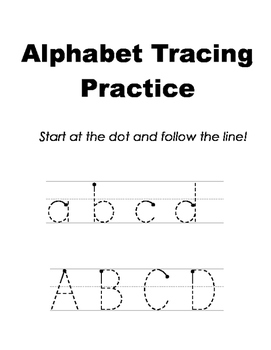 Alphabet Letter Tracing