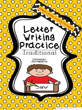 Alphabet Letter Writing Practice