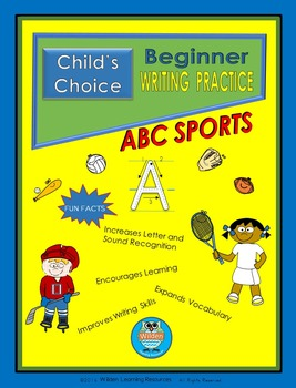 Child's Choice Writing Practice: ABC SPORTS -  Beginner