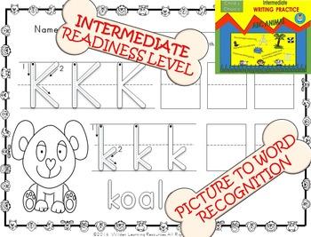 Child's Choice Writing Practice: ABC  ANIMAL - Intermediat