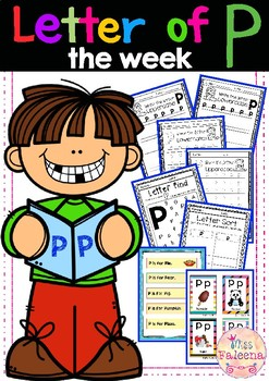 Alphabet Letter of the Week P