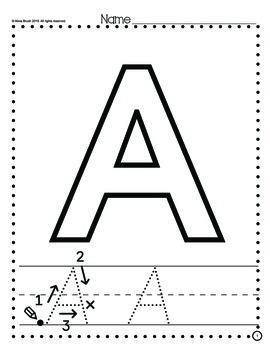 Alphabet Letters A-Z
