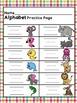 Alphabet Sequencing Build Skills, Fluency, Flash Cards, Pr