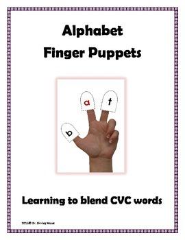 Alphabet Letters Finger Puppets
