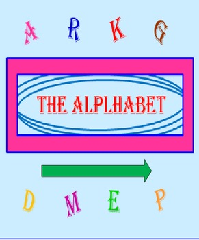 Alphabet Letters Power Point FREE PREVIEW