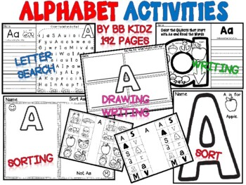 Alphabet/ Letters/ Sounds/ Sorts/ Searches (Learning Lette