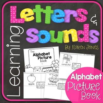 Alphabet Letters and Sounds {Alphabet Picture Book}
