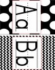 Alphabet Line - Black & White Patterns - Full and Half Page