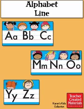 Alphabet Line by Karen's Kids (Digital Download)