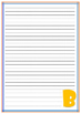 Alphabet Lined Pages
