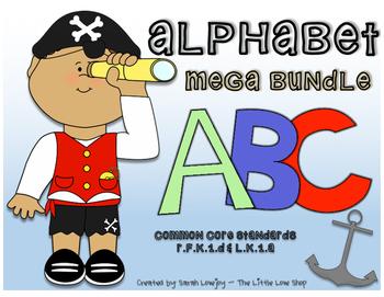 Alphabet Pack (CCSS Aligned)