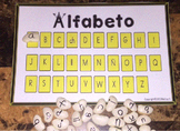 Alphabet Mat in Spanish Spanish Alphabet