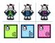 Alphabet Match Center Zebra Theme