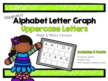 Alphabet Matching Graph: Uppercase Letters
