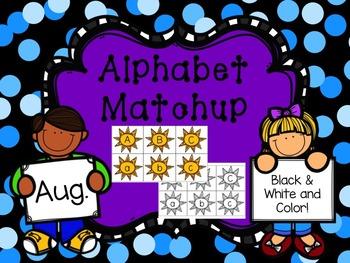 Alphabet Match {August}