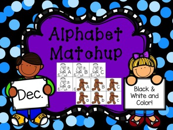 Alphabet Match {December}
