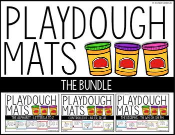 Playdough Mats BUNDLED