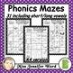 Alphabet Mazes and Matching Word Wall A4 MEGA BUNDLE