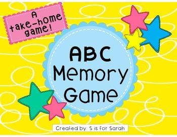 Alphabet Memory Take-Home Game