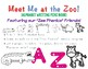 "Zoo Phonics Friends ~ Alphabet Mini Book ""Meet Me at the Zoo!"""