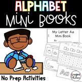 Alphabet Mini Books {5 activities for letters A-Z}