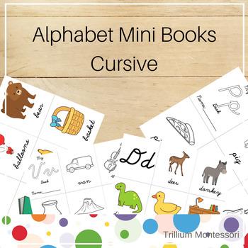 Mini Alphabet Books- Cursive