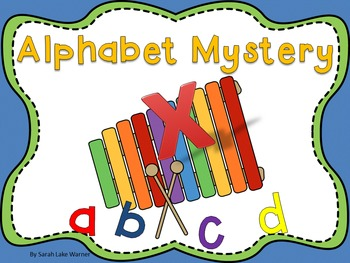 Alphabet Mystery! {Alphabet Literacy Station Activities 2}