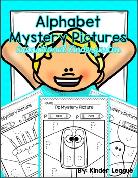 Alphabet Mystery Pictures for Transitional Kindergarten -T