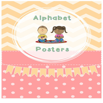 Alphabet, Numbers, Shapes Poster