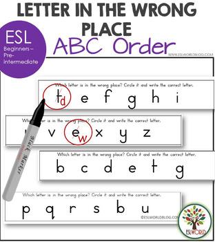 Alphabet Order ESL