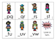 Super Hero Alphabet Order Game {Missing Letter: First Letter}