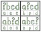 Alphabet Order:  What's Missing?  Lowercase