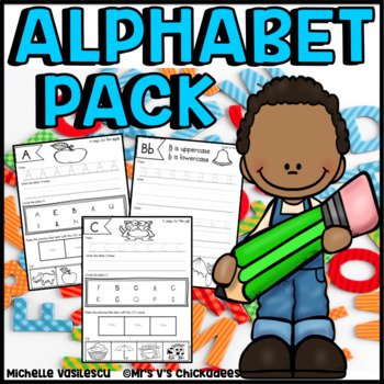 Alphabet Pack: 80 Pages of Handwriting & Letter Sound Practice
