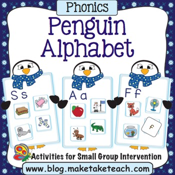 Alphabet - Penguin Alphabet Match