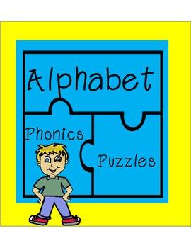 Alphabet Phonics Puzzles