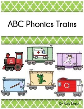 Alphabet Phonics Train Activity Center