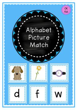 Alphabet Picture Match