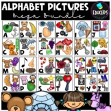 Alphabet Pictures Clip Art Mega Bundle (Educlips Clipart)