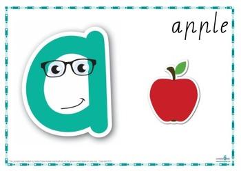 Alphabet Play Dough Mat (Cursive Print)